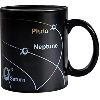 Star Mug Cup Sensitive Map And Funny Magic Coffee Heart Galaxy Night Mugs Porcelain Morning Changing Heat Color Day QthdsxrC