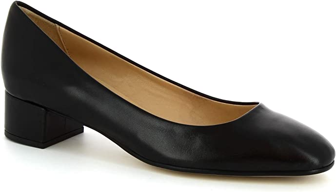 Soft Leather Pumps - Heels Shoes