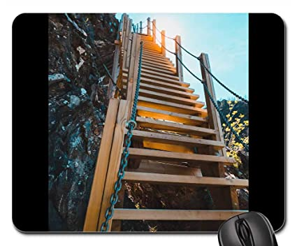 Amazon com : Mouse Pad - Staircase to Heaven Fykantrappa Far
