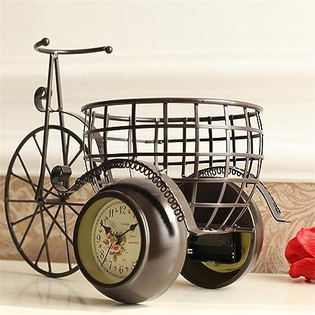Triciclo de metal Vintage reloj para bicicleta Retro soplado mesa ...