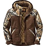 Legendary Whitetails Canvas Cross Trail Workwear Jacket Chocolate Large