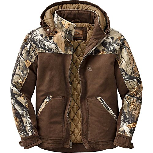 Legendary Whitetails Canvas Cross Trail Workwear Jacket Chocolate X-Large Tall