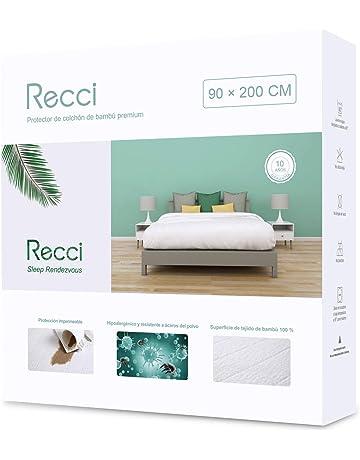 Recci Protector de colchón de bambú Premium