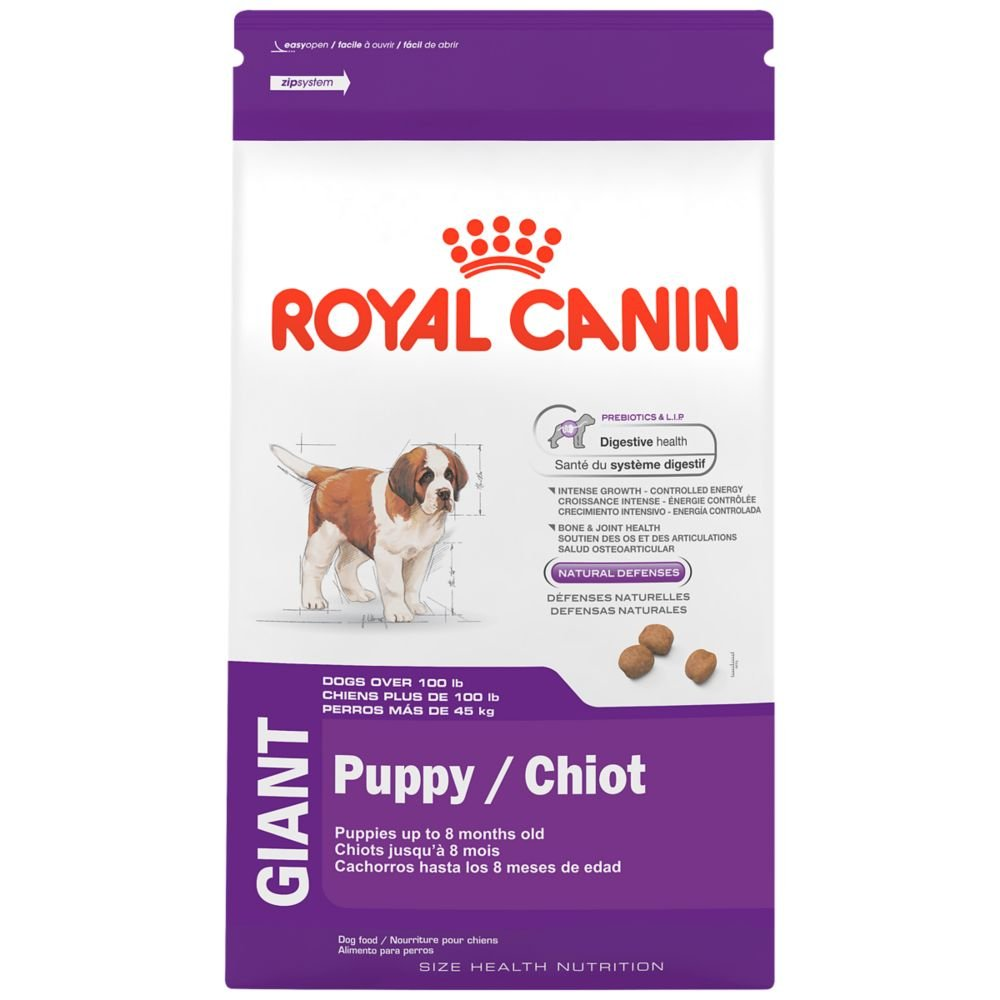 royal canin gaint nutrition dry food for puppy dog outlet s c r a p. Black Bedroom Furniture Sets. Home Design Ideas