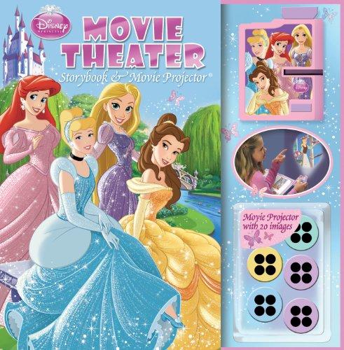 Disney Princess Alphabet - Disney Princess Movie Theater: Storybook & Movie Projector®