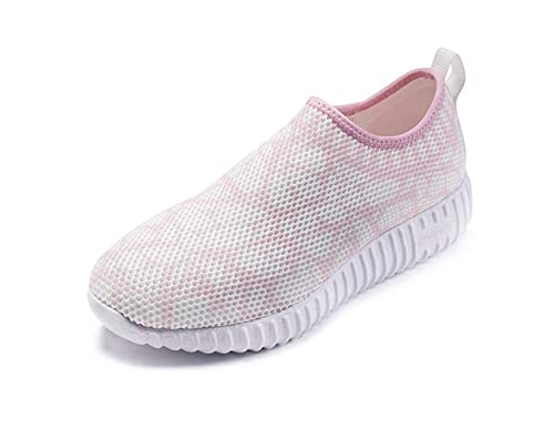 ONEMIX Zapatillas De Running Ligeras para Mujer Zapatos De Malla para Caminar con Diseño Deslizante En La Parte Superior: Amazon.es: Zapatos y complementos