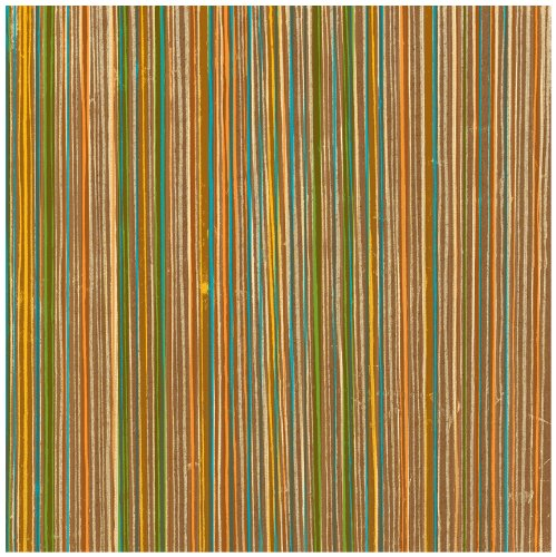 2 by 12-Inch Double Sided Scrapbook Paper, Paradise Stripe ()
