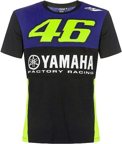 Valentino Rossi VR46 Moto GP M1 Yamaha Racing Team Junior T-shirt Official 2019