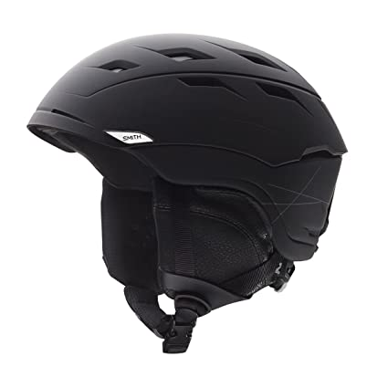 a4a7aeeae31c2 Amazon.com  Smith Optics Unisex Adult Sequel Snow Sports Helmet - Matte  Black Small (51-55CM)  Sports   Outdoors