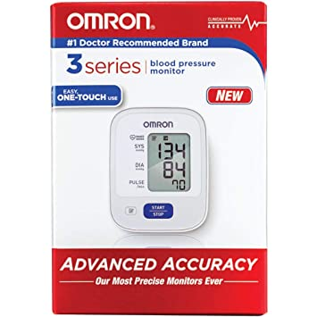 Amazon Com Omron 3 Series Automatic Blood Pressure Monitor Model