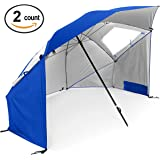 Super-Brella - Portable Sun and Weather Shelter, 2 Pack
