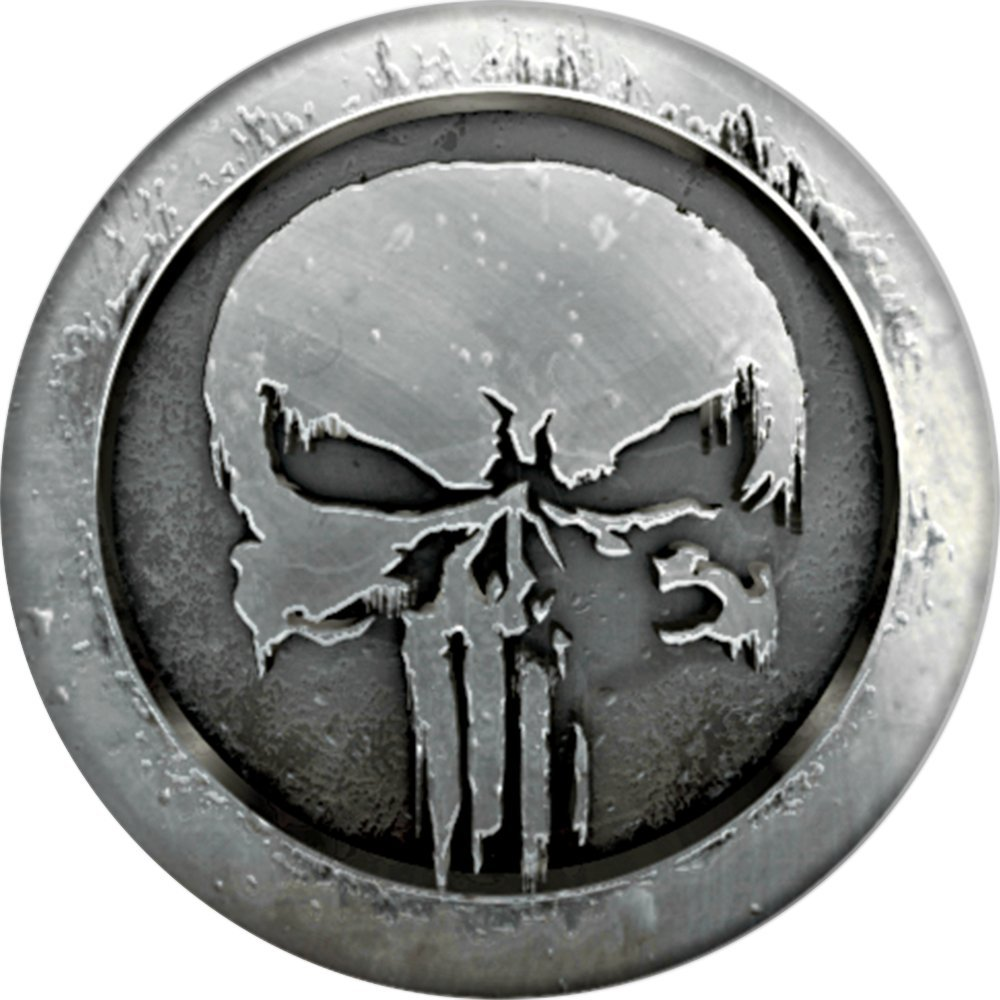 PopSockets: Collapsible Grip and Stand for Phones and Tablets - Marvel - Punisher MonoChrome by PopSockets (Image #2)