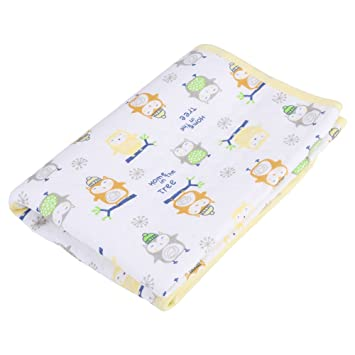 1ccb29aa6aa Changing Pad Waterproof Cotton Urine Mat Diaper Nappy Bedding Cover  Mattress Protector for Toddler Infant Baby Children Adults(Yellow Packed  M)  Amazon.ca  ...