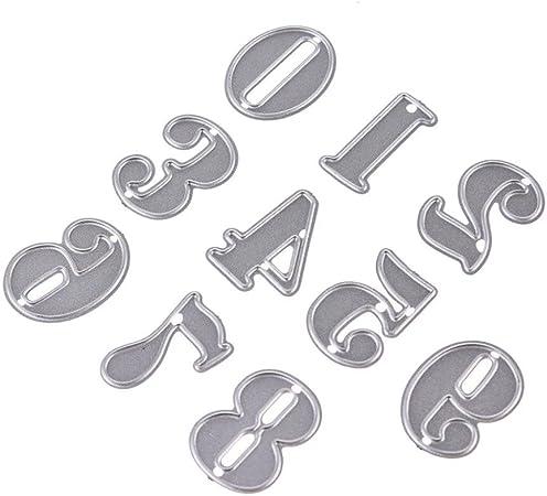 A Accessori per Big Shot e Altre Macchina FNKDOR Fustelle per Scrapbooking Metallo Fustella Fustellatrice Stencil per Carta DIY Embossing Cutting Dies
