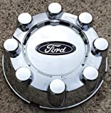 18 20 Inch 2008 2009 2010 Ford SD Super Duty F250 F350 F-250 F-350 Pickup Truck SRW 8-Lug OEM Chrome Plated Center Cap without Hole Wheel Cover P/n 7C3Z-1130-AA or 7C34-1A096-PC 3693