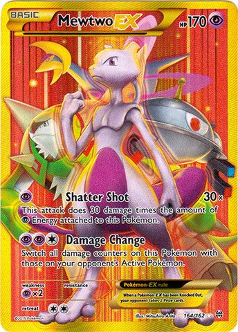 (Pokemon - Mewtwo-EX (164/162) - XY Breakthrough - Holo)