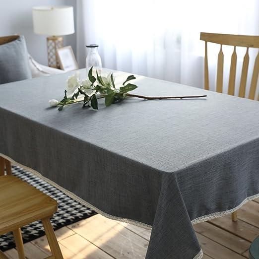 ZXY Manteles modernos del algodón del estilo minimalista, manteles ...