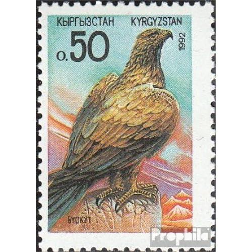 Kirgisistan 2 (complète.Edition.) 1992 Animaux (Timbres pour les collectionneurs)