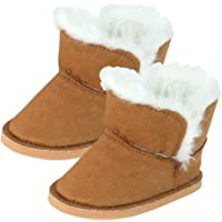 Sophia's 18 Inch Doll Boots | Brown Mini Ewe Bootie
