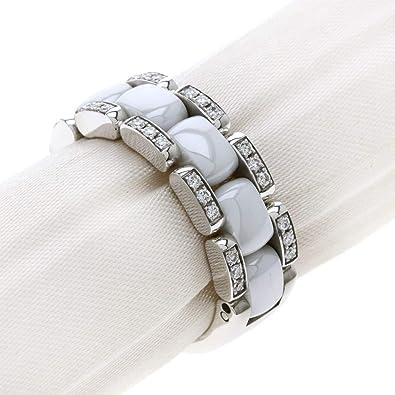 9a49b613f5e9 [シャネル]ウルトラリング ダイヤモンド ホワイトセラミック #56 リング・指輪 K18ホワイトゴールド