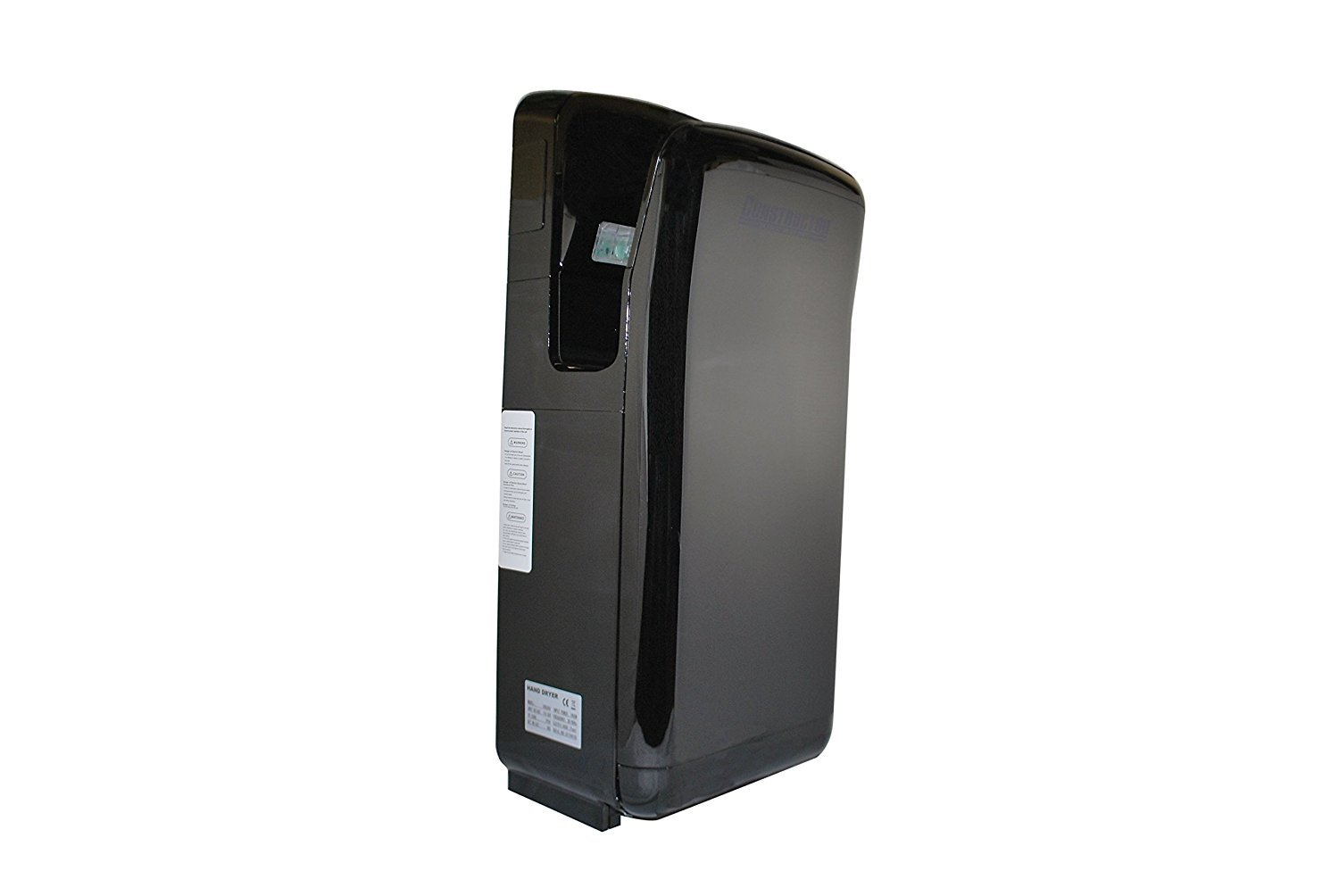 CONSTRUCTOR Automatic High Speed Commercial 1900W Durable Hand Dryer with Infrared Sensor - Black