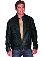 d695eed87a7 Scully Men s Bone Beaded Fringe Leather Jacket - 902-409 at Amazon ...