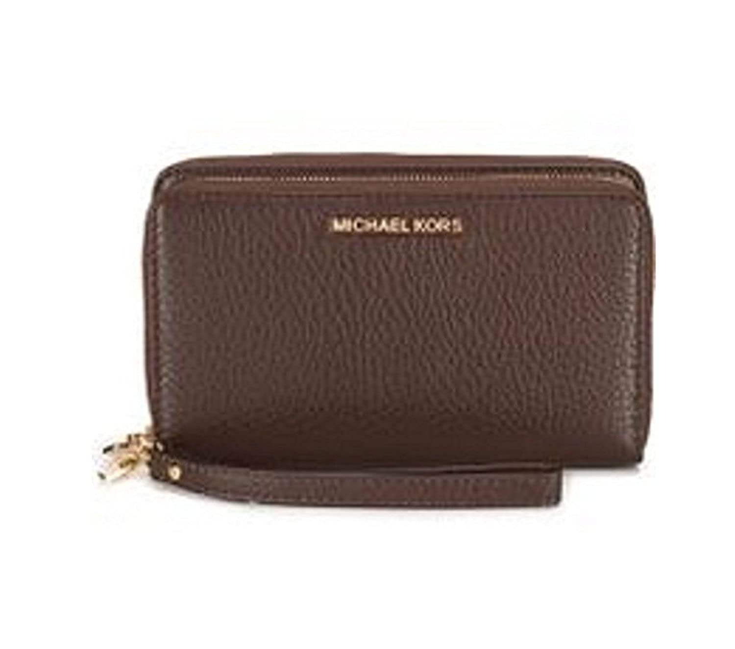 faae7aa70b71 MICHAEL Michael Kors Adele Double-Zip Wallet  Handbags  Amazon.com