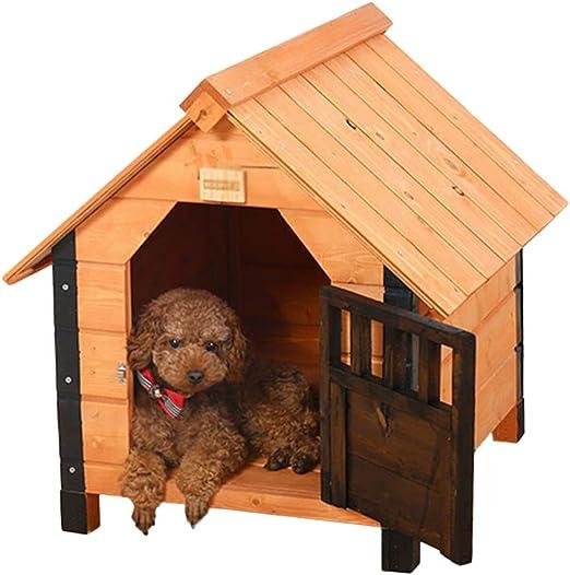 Casetas para perros Caseta Para Mascotas Jaula Para Gatos Jaula Jardín Exterior Para Perros Caseta Para Gatos Jaula Hogar Jaula De Madera Para Mascotas Jaula Para Mascotas Lavado Extraíble Carga 10 Kg: