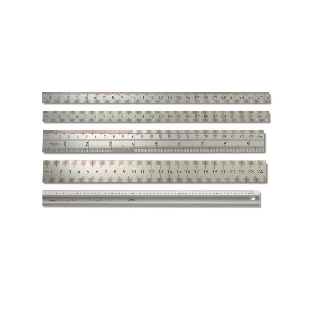 BMI 966060060 Steel-Measuring Rule 30x1mm 600mm Graduation 1