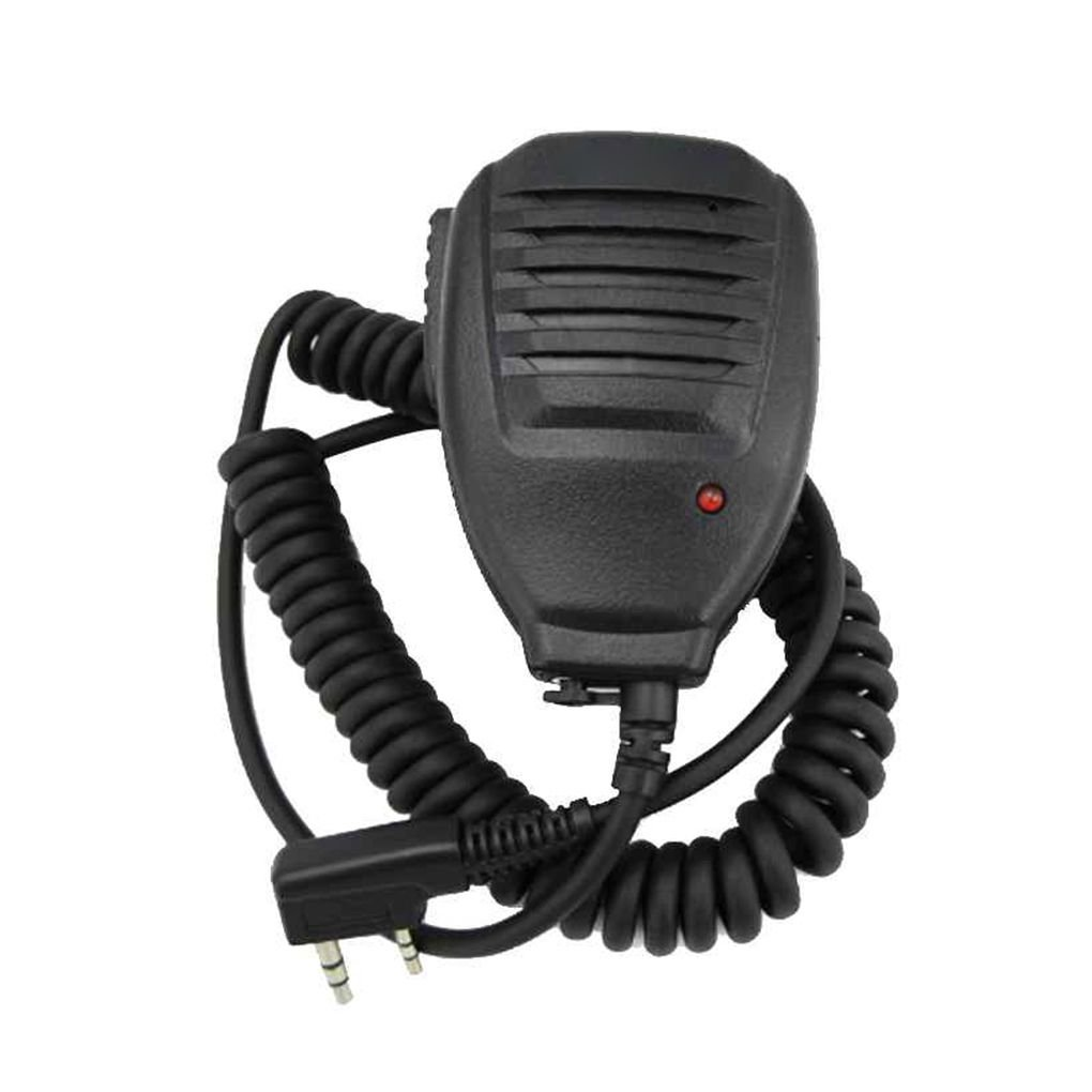 Talkie Walkie Transceiver LafyHo Haut-Parleur Mic Microphone pour BaoFeng Radio UV 5R GT-3 UV-5RE Plus UV-B5 UV-B6 BF-F8