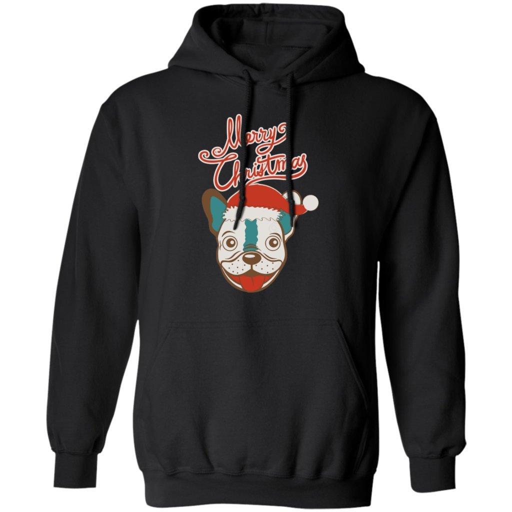 Funny French Bulldog Gift Tee Pures Designs French Bulldog Christmas Hoodie