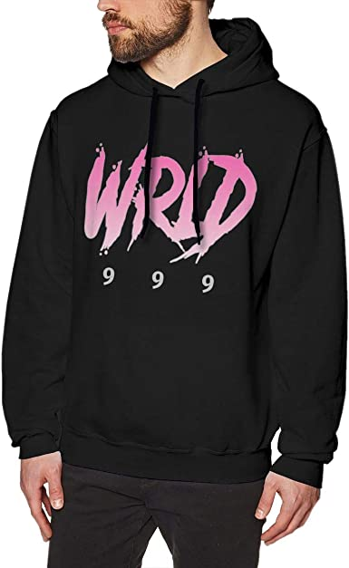 RAILONCH Mens Juice Wrld Hip Hop Hoodie Long Sleeve Pullover Sweatshirt