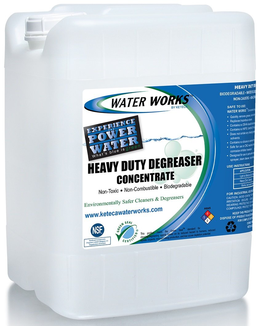 Water Works Heavy Duty Degreaser Concentrate, 5 Gallon