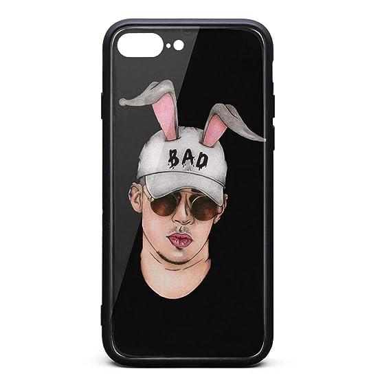detailed pictures 7a091 999a2 Amazon.com: iPhone 7 Plus/iPhone 8 Plus Case Bad-Bunny-Rabbit-Ear ...
