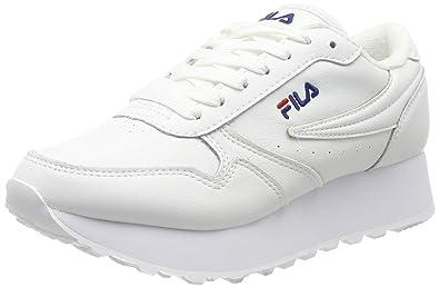 80a48cadcb46 Fila Shoes Woman Low Sneakers 1010311.1FG Orbit Zeppa L WMN White Size 36  White