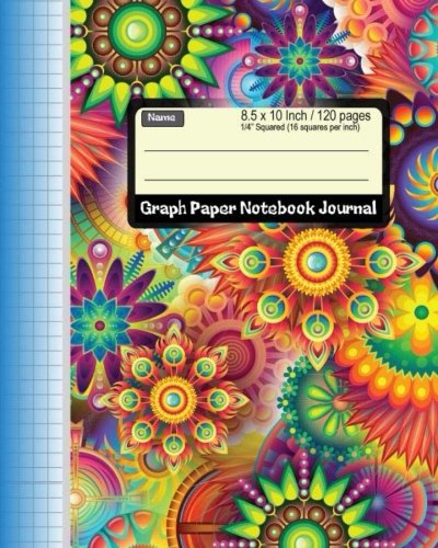 "Graph Paper Notebook Journal 8.5 x 10 Inch 120 pages: 1/4"" Squared Graphing Paper Blank Quad Ruled, Coordinate, Grid, Squared Spiral Paper for write ... Sketch (Math Composition Book) (Volume 4) pdf epub"