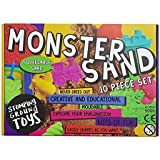 Monster Sand 10 Piece Box Set - Magic Motion Play Sand With Kinetic Formula