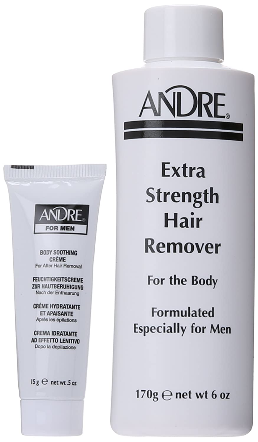Andre Extra Strength Hair Remover for Men: Amazon.es: Salud y ...