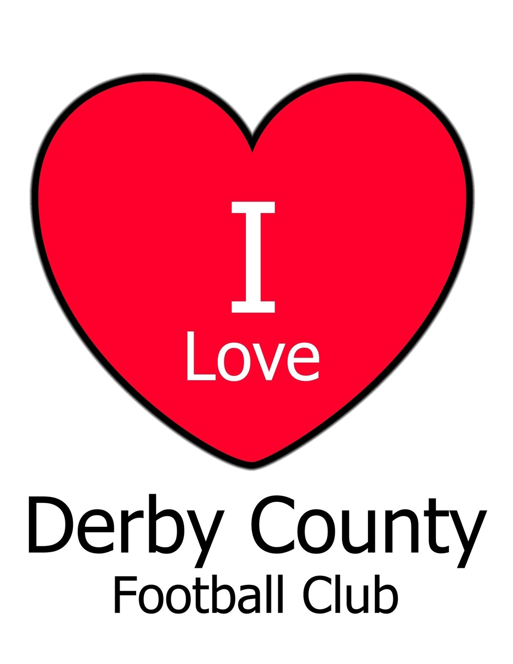 Download I Love Derby County Football Club: White Notebook/Notepad for Writing 100 Pages Derby County Football Gift for Men, Women, Boys & Girls ebook