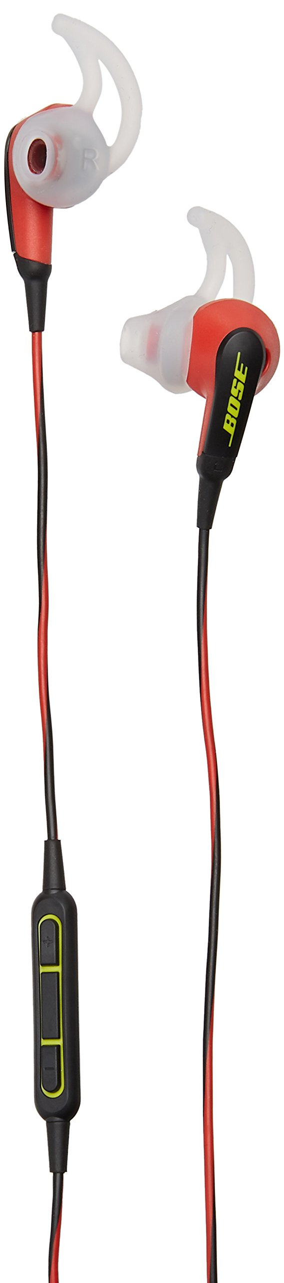 Bose SoundSport in-ear headphones - Apple devices, Power Red - 741776-0040 by Bose