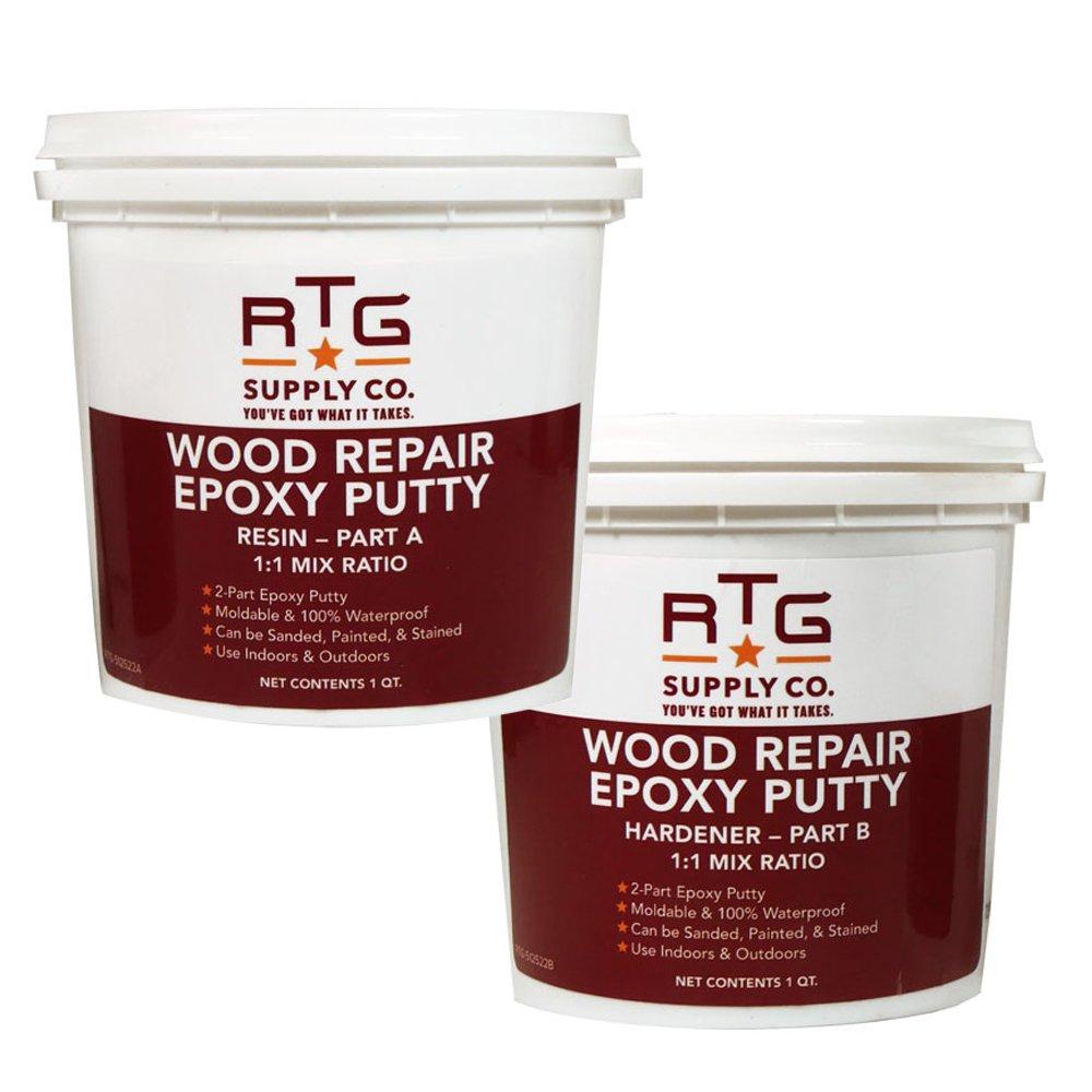 Amazon.com: RTG Wood Repair Epoxy Putty (2-Pint Kit): Home Improvement