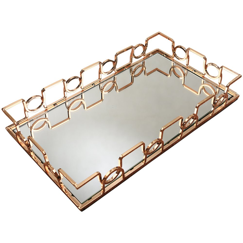 M.C.Artist Metal Mirrored Tray