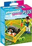 Playmobil Girl and Guinea Pigs Building Set