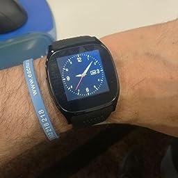 LUCKY ® Nuevo T8 Bluetooth Smart Watches Apoyo SIM & TF ...