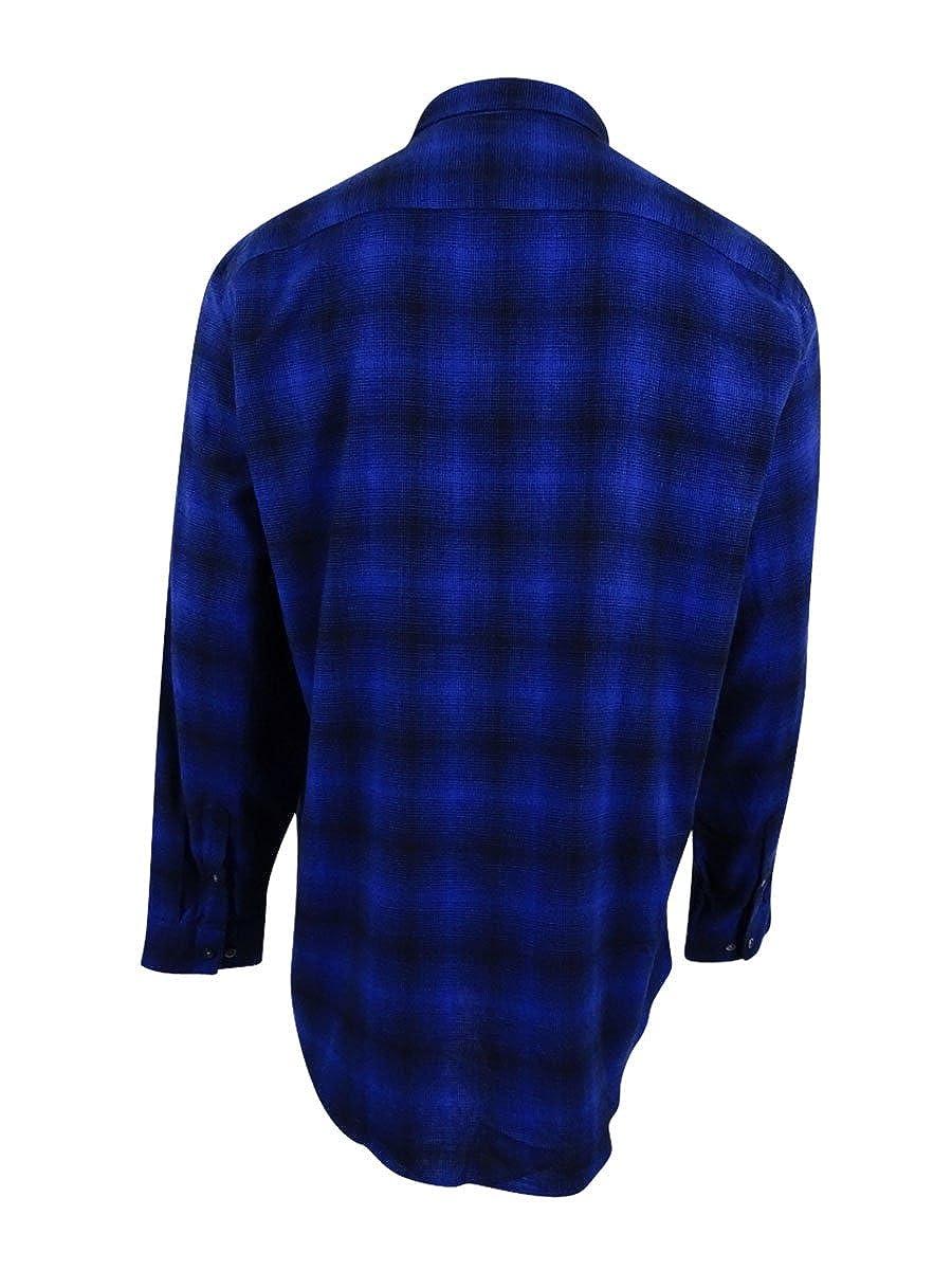 Alfani Mens Slim Brushed Button Up Shirt
