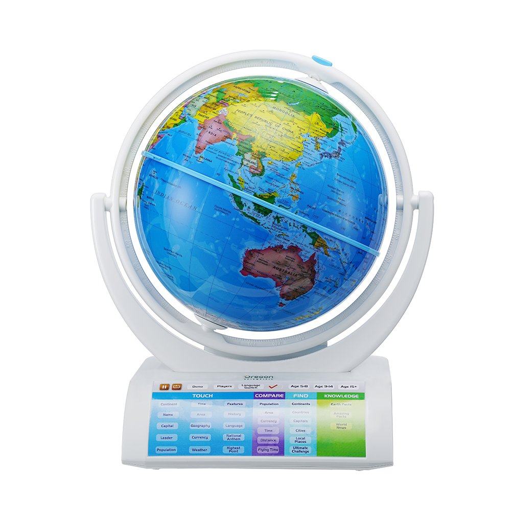 Oregon Scientific terráqueo Smart Globe Explorer AR, SG-338-R