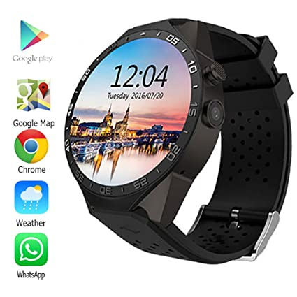WANGKM Smart Watch Fitness Wristband Heart Rate Monitor Activity Trackers Waterproof Sports Bracelet Android 5.1 Os