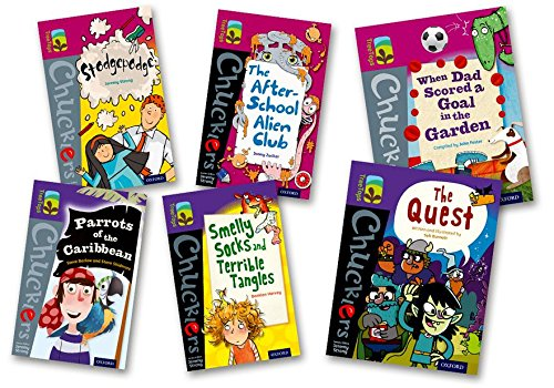 Oxford Reading Tree TreeTops Chucklers: Oxford Level 10-11: Pack of 6 ()