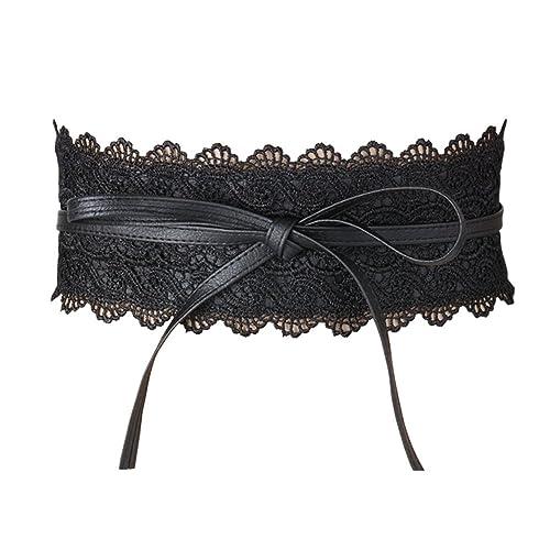 Cinturón Ancho Obi Ajustable para Mujer para Vestidos de Fiesta Boda