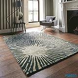 Handmade wool carpets/[Cloakroom living room bedroom carpet]/Hotel Club room sofa Villa carpets and living room bedroom closet carpet-H 140x200cm(55x79inch)